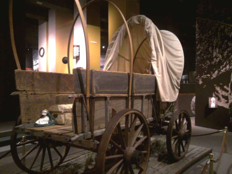 SL Museum covered wagon