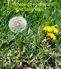 Dandelion Novelists Story Titles