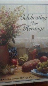 St. Charles Celebrating Our Heritage Cookbook