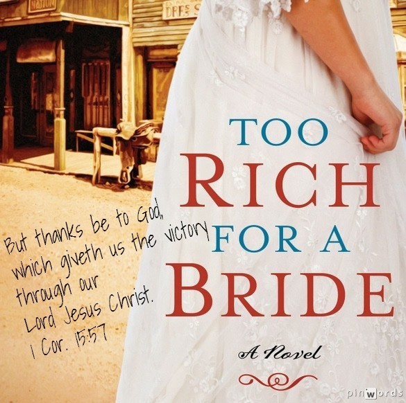 Too Rich for a Bride Pinwords