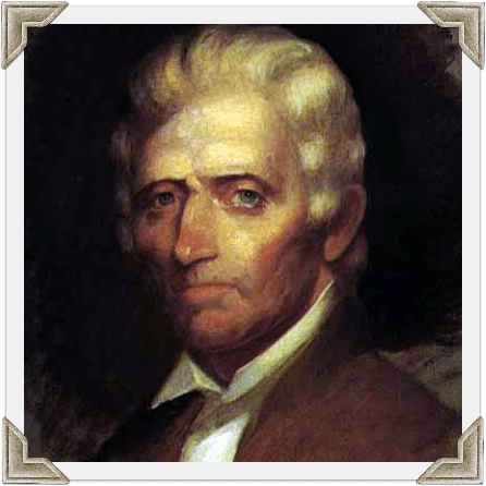 Daniel Boone Framed