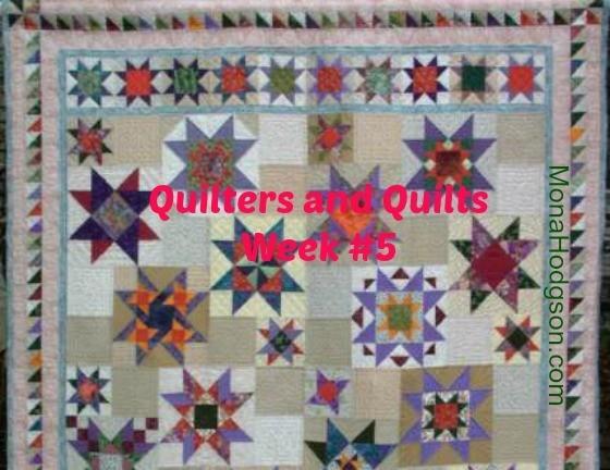 Kathleen Belongia Star Quilt Banner
