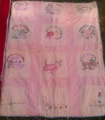Baby Quilt Great Grandmother Bertha Kells made for Aunt. Nancy (Davenport)