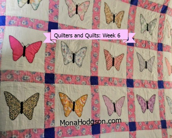 Amy Campbell Butterflies Quilt Banner