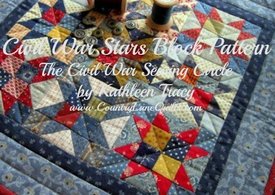 Civil War Stars Block Pattern