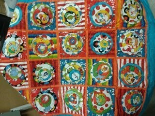 Karen Powel quilt circles in squares