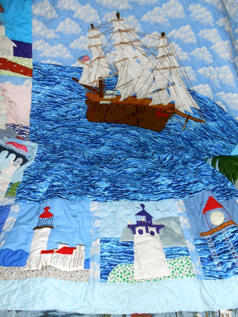 Lighthouse Quilt from Grandma