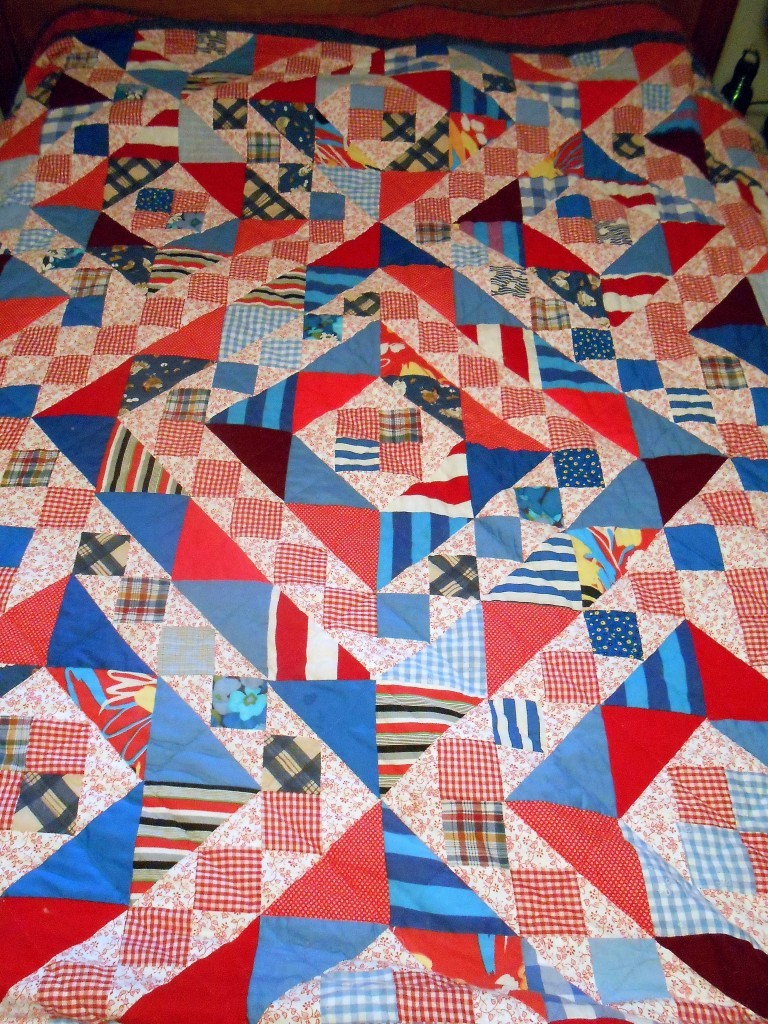 One of Great Grandma's last quilts