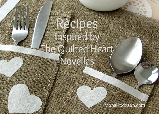 Hearts placesetting banner