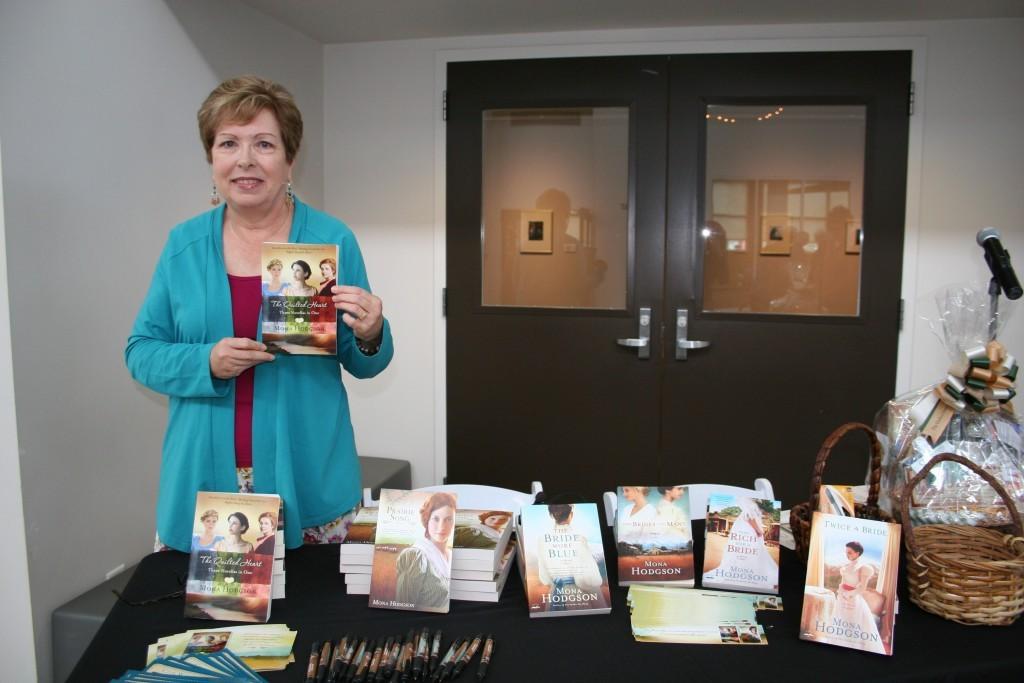 Mona Hodgson, Guest Speaker, Foundry Arts Centre