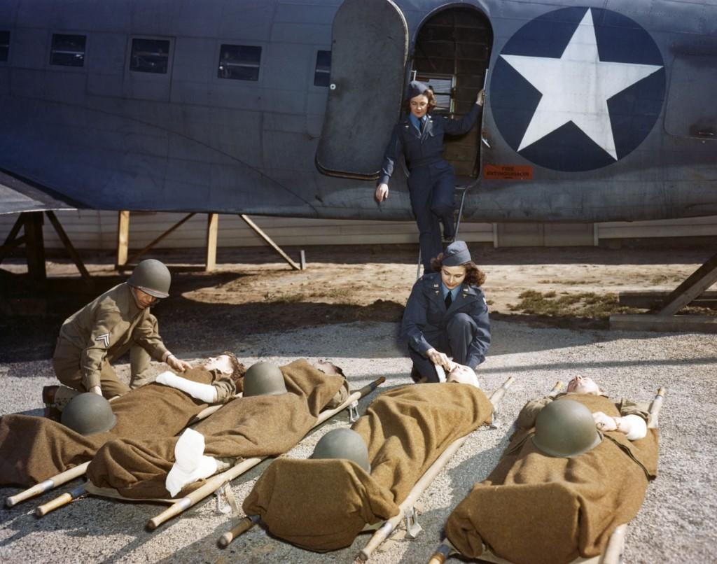 Flight Nurses loading