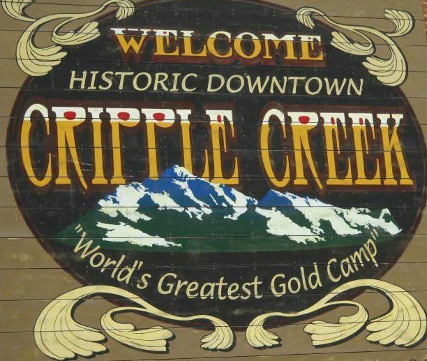 Cripple Creek, Colorado, the setting for The Family Quilt, a Christmas novella